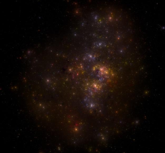 Sternfeldhintergrund. sternenhimmel weltraumhintergrund