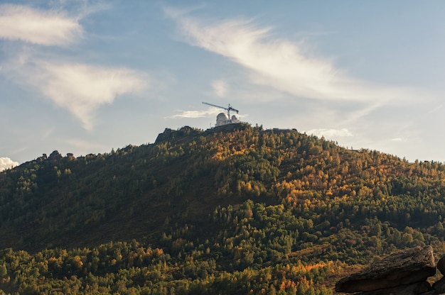 Sternwarte am berg.