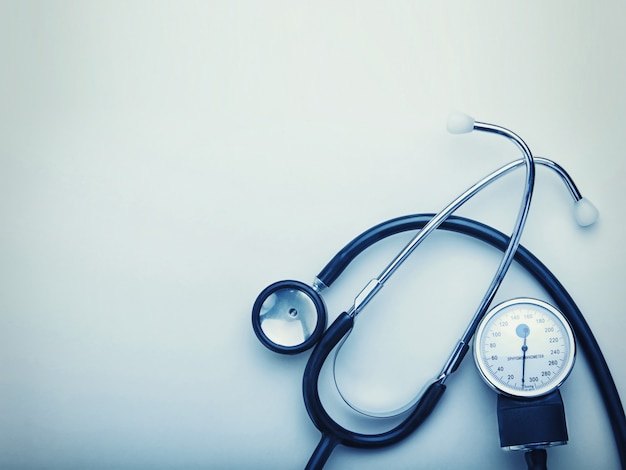Stethoskop isoliert