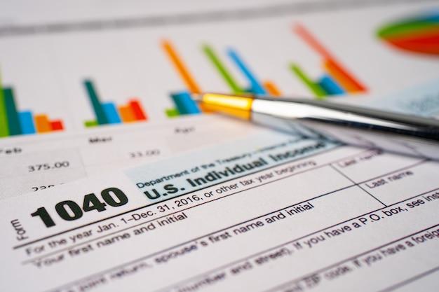 Steuererklärung formular 1040, us-einkommen.