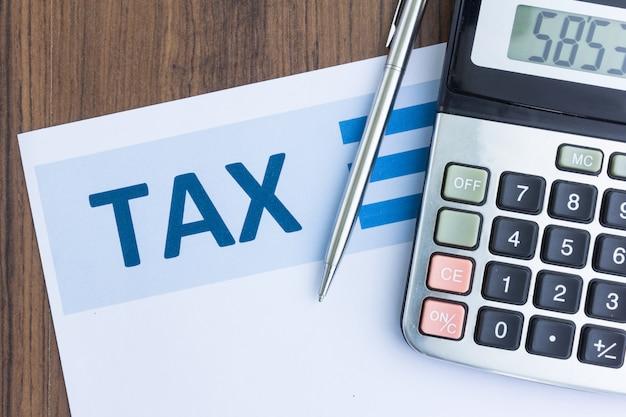 Steuerformular und rechner