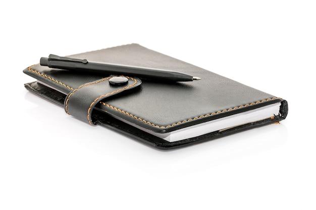 Stift legte das notebook an