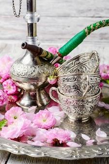 Stilvolle arabische huka