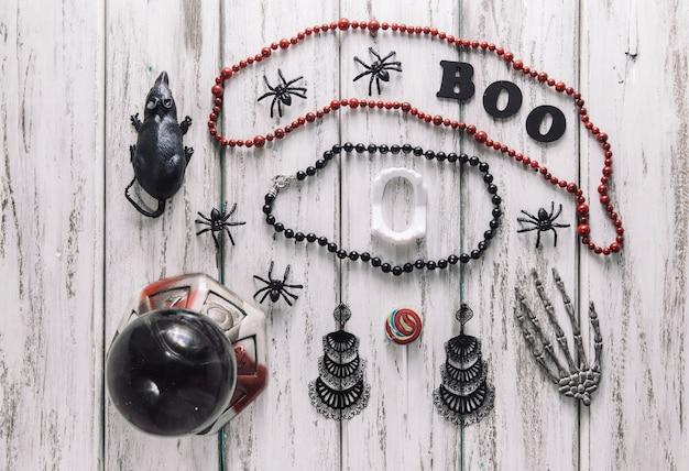 Stilvolle halloween-dekorationen