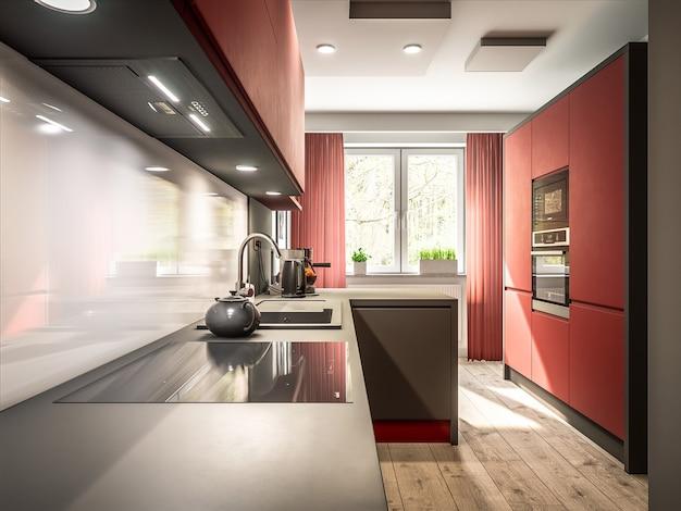 Stilvolle küche