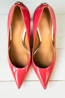 Stilvolle pink stiletto schuhe oder high heels