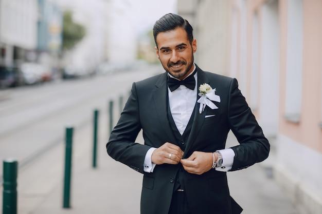 Stilvoller bräutigam