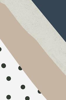Stilvolles abstraktes hintergrunddesign in memphis