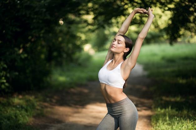 Stimmung joggen stretching vergnügen schönen container