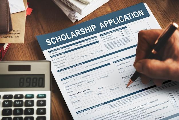 Stipendienantragsformular stiftungskonzept