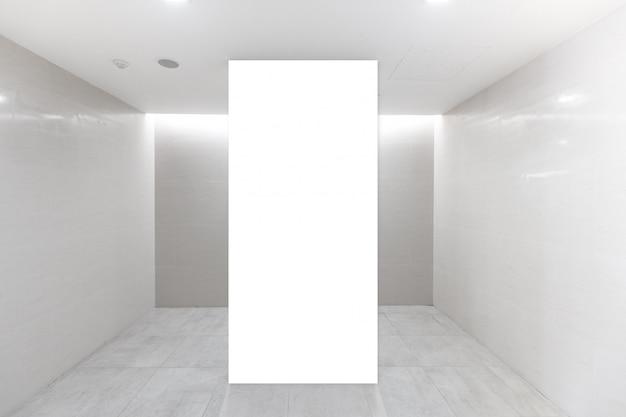 Stoff pop up-basiseinheit werbebanner media-display-hintergrund, leerer hintergrund