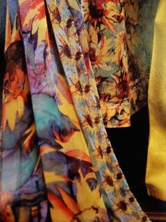 Stofffarbe komplette design, fasern
