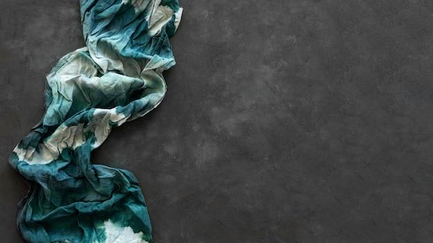 Stoffzusammensetzung mit natürlichen pigmenten mit kopierraum