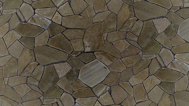 Stoned ground textur