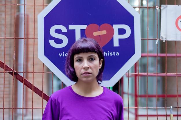Stop zur häuslichen gewalt
