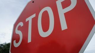 Stoppschild stoppen