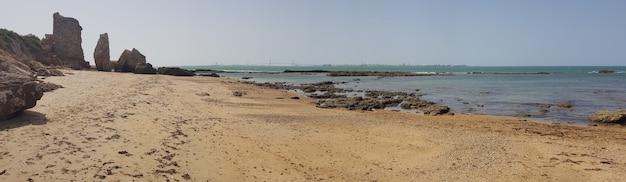 Strand der mauer von puerto sherry