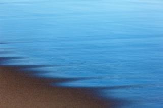 Strand dunklen