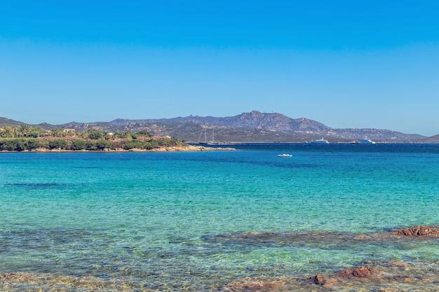 Strand in costa smeralda
