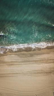 Strand in malaga, andalusien region von spanien.