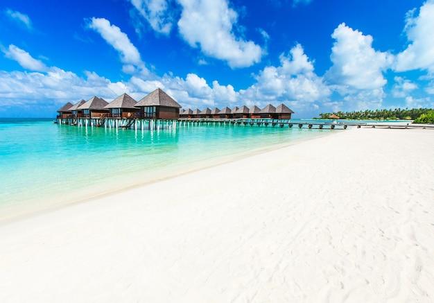 Strand mit malediven