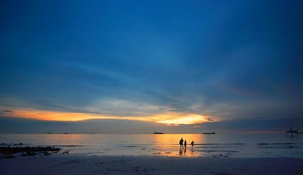 Strand sonnenuntergang landschaft