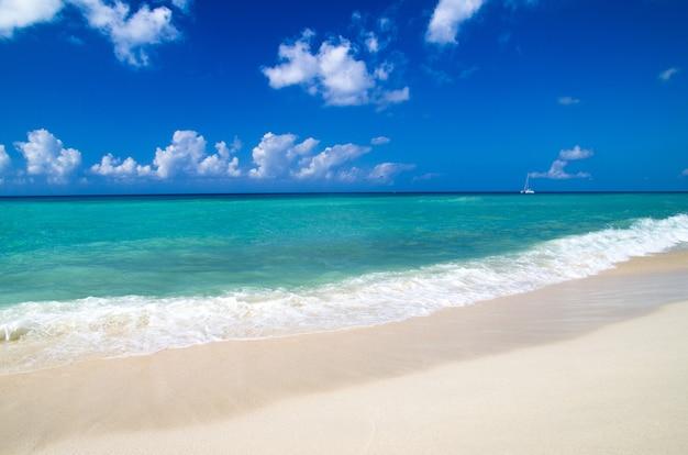 Strand und wunderschönes tropisches meer