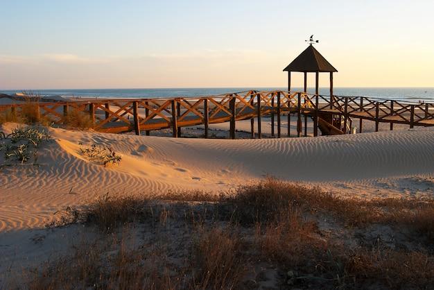 Strand von cortadura (cadiz)