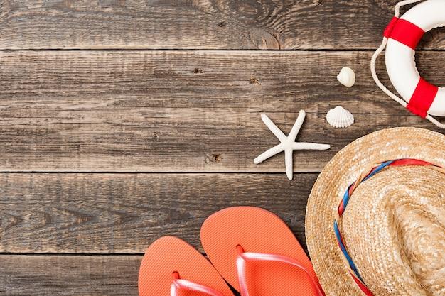 Strandaccessoires für den sommer