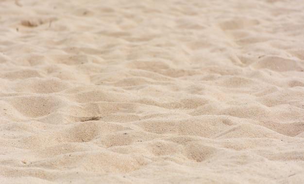 Strandsandbeschaffenheit