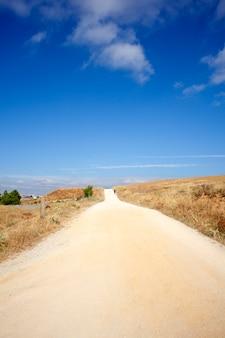 Straße, spanische landschaft
