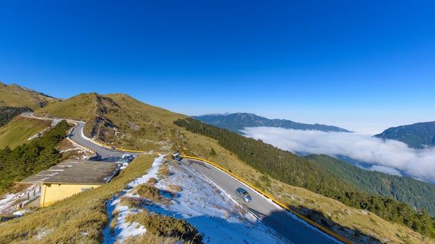 Straße zum großen berg