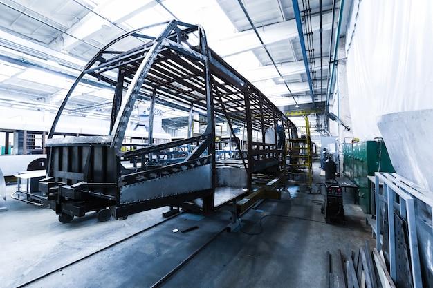 Straßenbahnproduktion herstellung