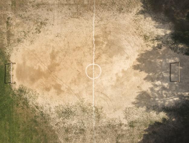 Straßenfußballplatz