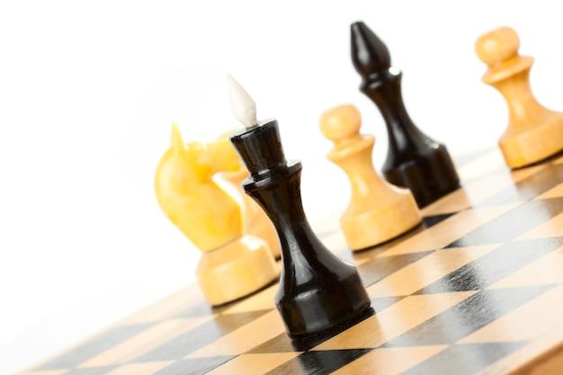 Strategische bildung im schachspiel