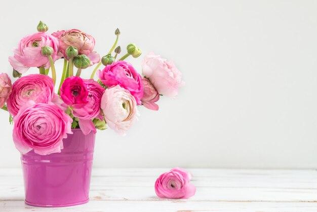 Strauß rosa blumen