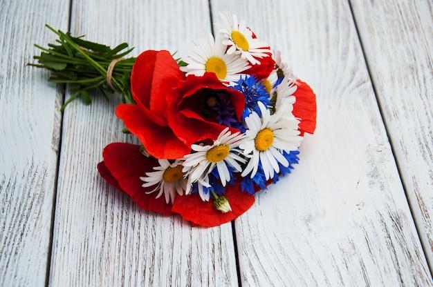Strauß wildblumen