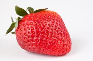 Strawberry close up image