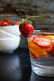 Strawbery limonade