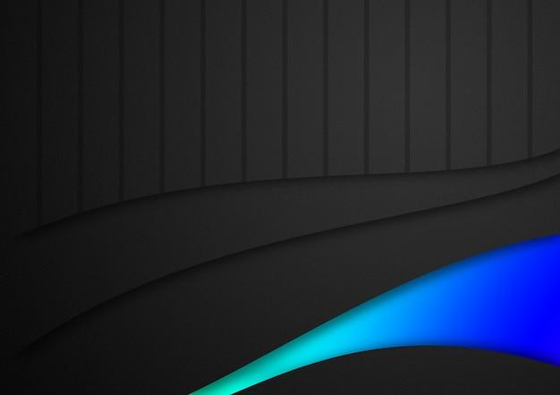 Streifenhintergrundillustration, glatte linien der geometrischen muster
