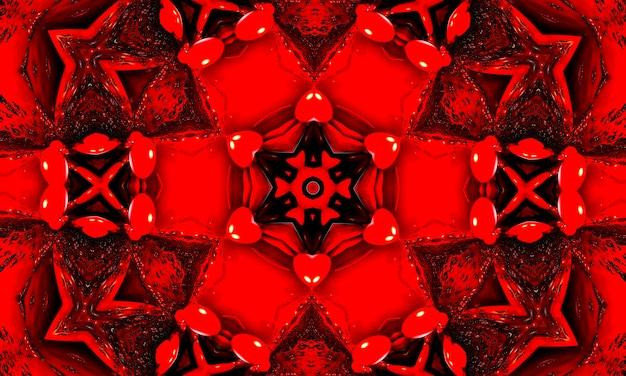 Streifenwellentrenner. mystische geometrische verzierung. kontinuierliche magie wallpaper. groovige tapete. säurequadrat rune. roter wiederholungspinsel. rotes geometrisches muster. rote geometrische tinte. blutgewellter batik.