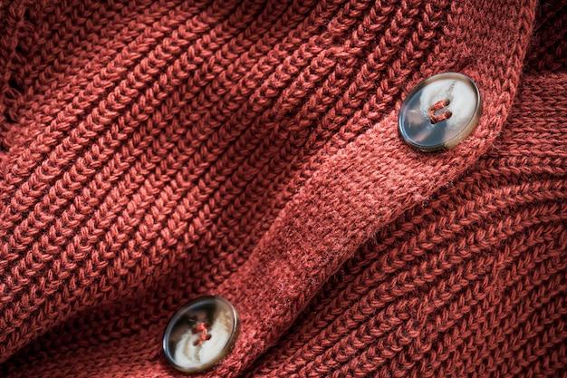 Strickjacke aus natürlicher wolle