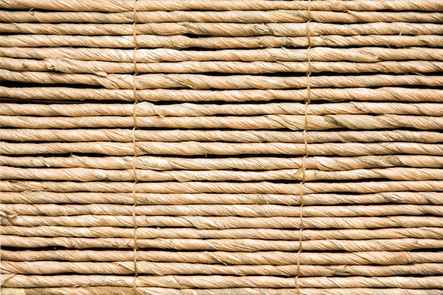 Strohdachhintergrund, heu oder hintergrund des trockenen grases, strohdachbeschaffenheit. hut-textur.