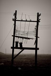 Stromleitungen, macht