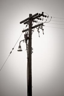 Stromleitungen, szene