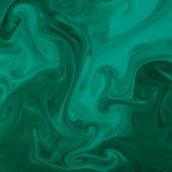 Strudel der grünen acrylfarbe oder ähnlicher marmortorsionsbeschaffenheitshintergrund