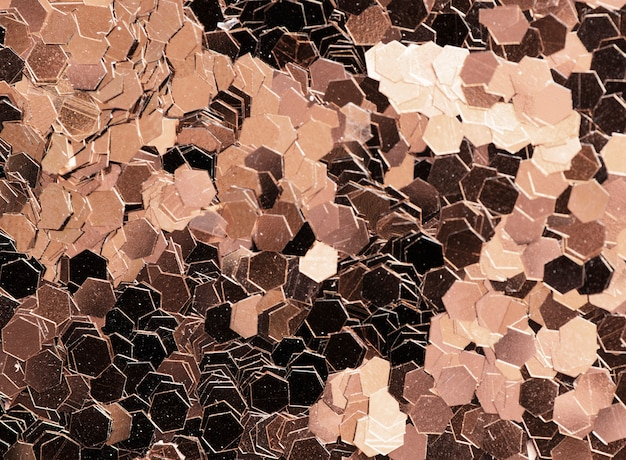 Strukturierte hintergrundzusammenfassung der metallischen paillette