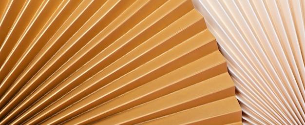 Strukturierte papierfächer