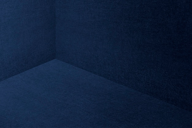 Strukturierter dunkelblauer hintergrund