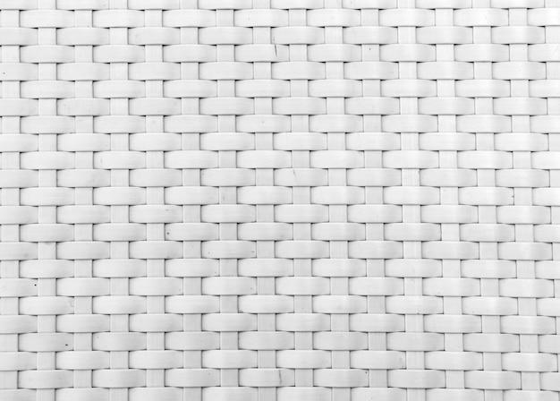 Strukturierter gestrickter hintergrund weiße farbe aus kunststoff mit niemandem
